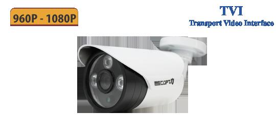 Camera 720TVI 2.0 - ESCORT