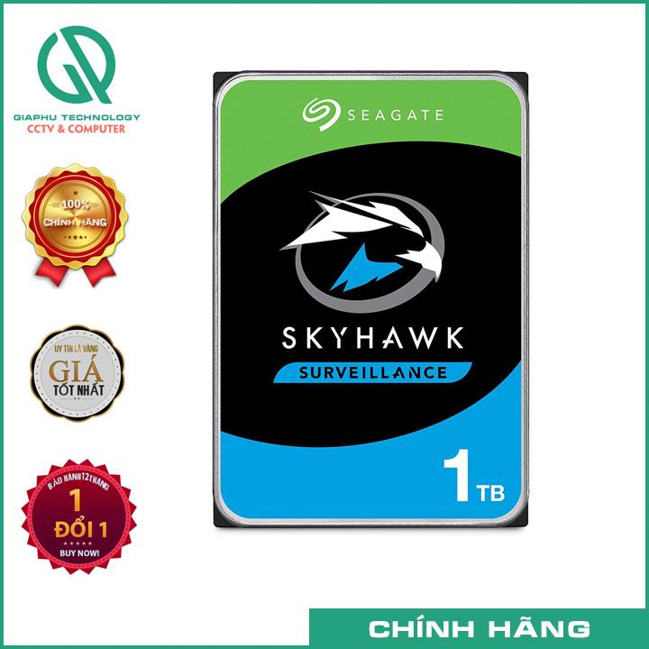 HDD Seagate SkyHawk 1TB ST1000VX005 - Chuyên Camera Chính hãng FPT SYNNEX